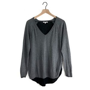 Madewell Tiebreaker V-neck Sweater